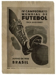 Poster From World Cup in 1950