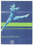 Gymnastics Poster From 1972 Summer Olympic Games