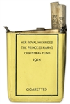 Princess Mary Cigarette Pack for WWI Troops in Christmas 1914