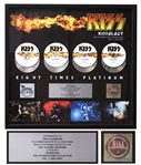 KISS RIAA Multi-Platinum DVD Award for Kissology: The Ultimate Kiss Collection Vol. 3