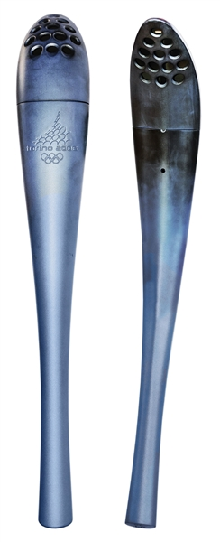 Olympic Torch Used in 2006 Torino Winter Games