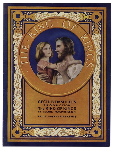 1927 Theater Brochure for Cecil B. DeMille's ''The King of Kings''