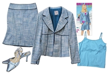 Reese Witherspoon Outfit From Legally Blonde 2: Red, White and Blonde -- Nanette Lepore Suit & Jimmy Choo Shoes