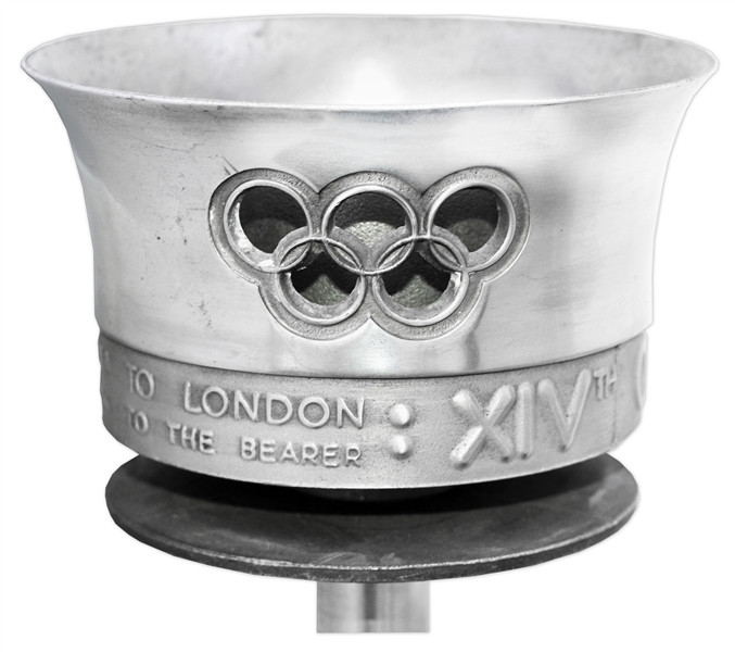 Olympic Torch Used in 1948 London Summer Games