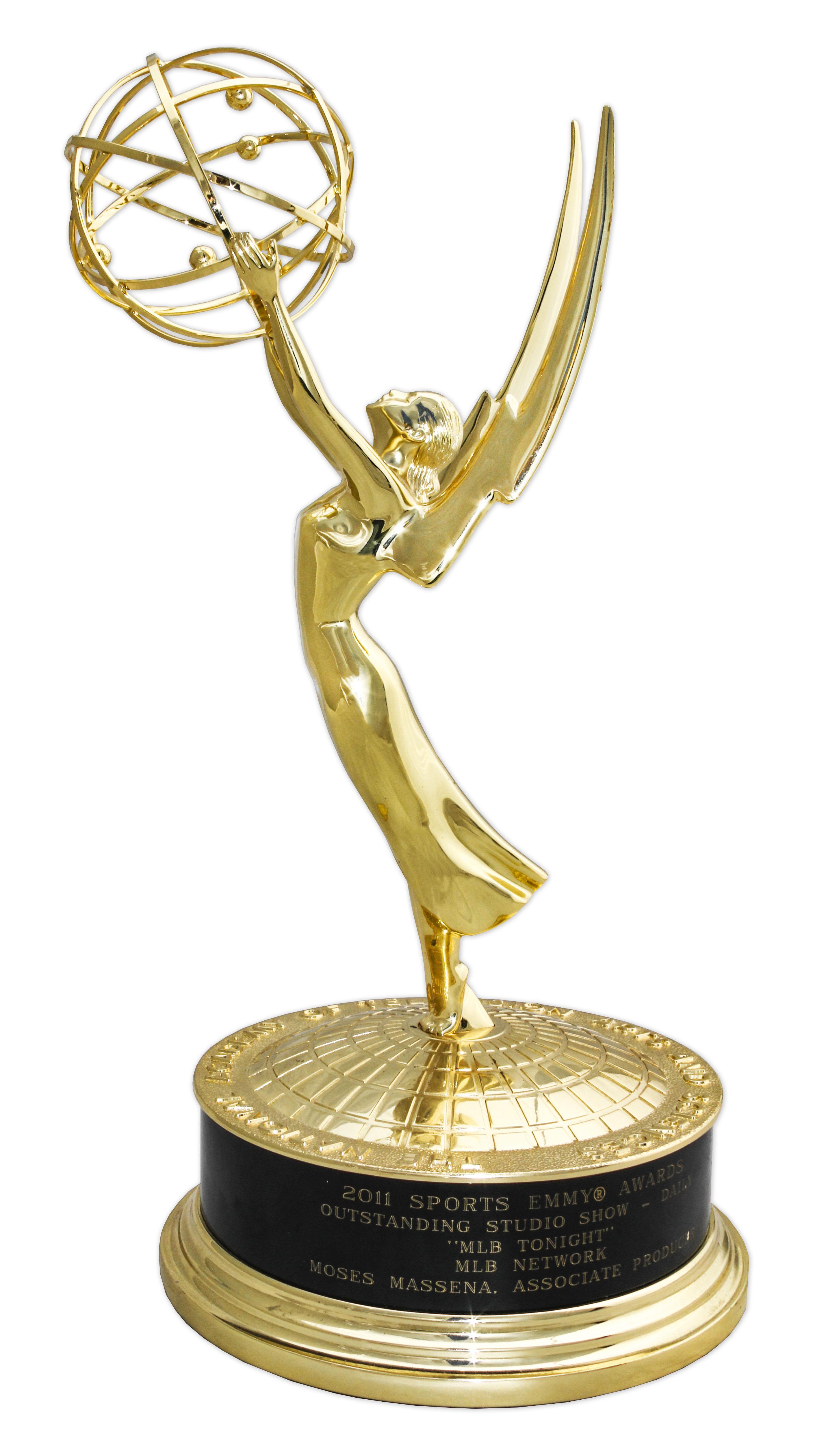 Lot Detail - 2011 Sports Emmy Award for MLB Networks ''MLB Tonight ...
