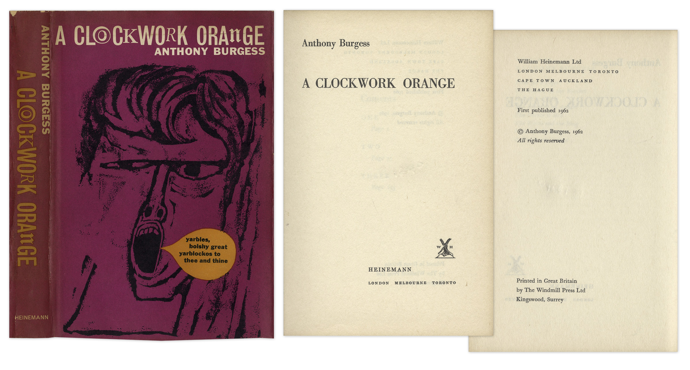 an analysis of future societies in a clockwork orange by anthony burgess I picked up anthony burgess' most infamous novel on at least three occasions, the first when i was in high school just a few weeks earlier, i'd tried reading james joyce's finnegans wake on the advice of a sadistic english teacher, and i'd run into the same brick wall with a clockwork orange: i could only understand every other fucking word.