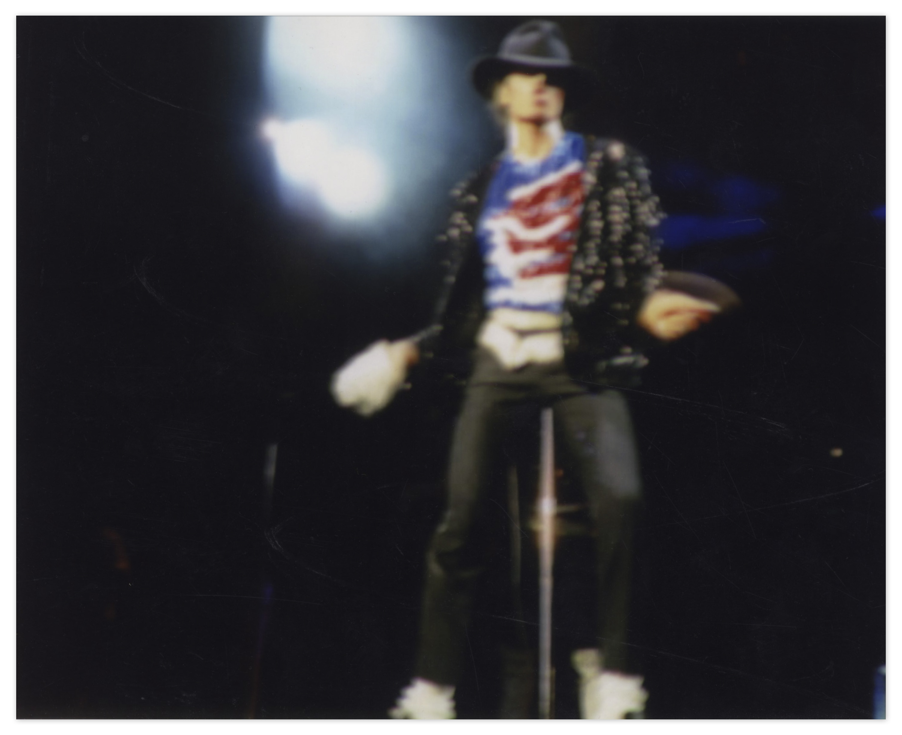 49864cff58fc1 Michael Jackson s Famous Stage-Worn Black Fedora -- From 1984   Victory  ...