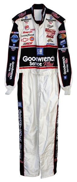 Dale Earnhardt Sr. NASCAR Race-Worn Fire Suit ''7-Time Champion'' -- With COA from RCR
