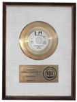 Don McLeans American Pie RIAA Gold Record -- Presented to Grammy Award Winning Master Sound Engineer George Marino & From His Estate