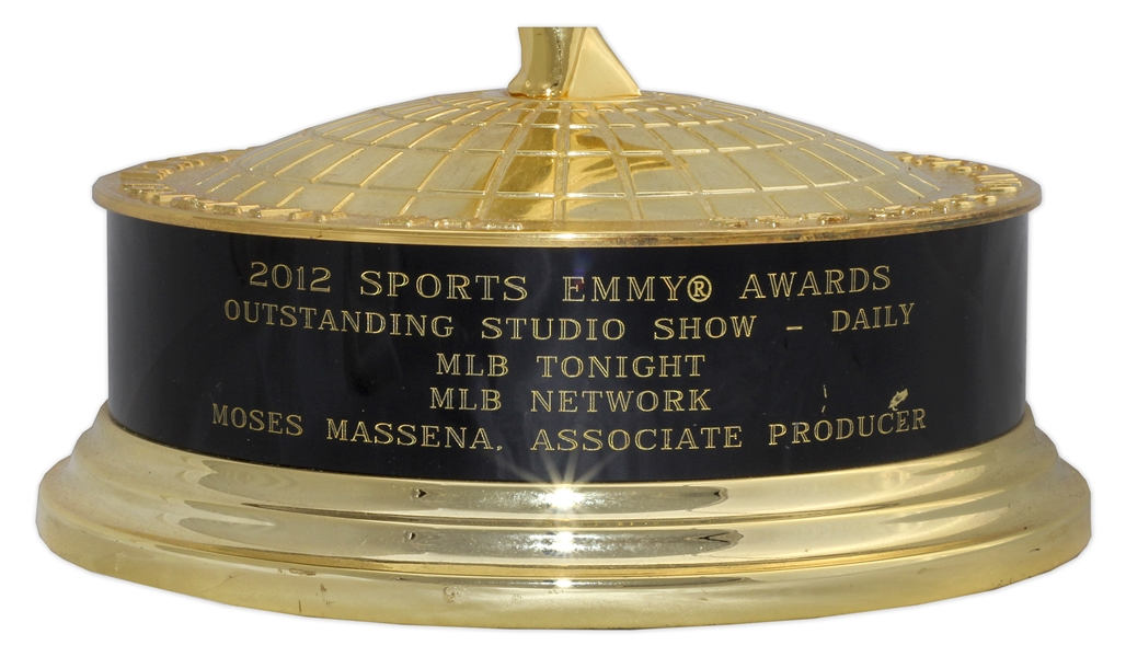2012 Sports Emmy Award for MLB Network's ''MLB Tonight'' Program -- Lustrous, Near Fine Condition