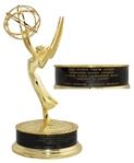 2012 Sports Emmy Award for Foxs Coverage of the National League Championship Series -- Stunning, Near Fine Condition