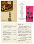 41st Academy Awards Presentation Program