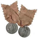 1799 George Washington Funeral Medal -- Worn During Washingtons Funeral Procession