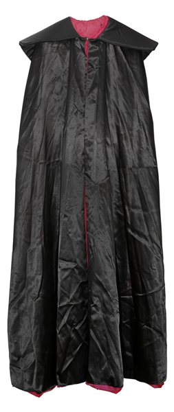 James Brown Stage-Worn ''Dracula'' Cape -- Worn During Brown's ''Cape Routine'' Onstage -- With Christie's Provenance
