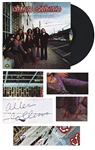 Lynyrd Skynyrds Debut Album, Signed by Five Original Band Members, Including Lead Singer Ronnie Van Zant -- With COA From Roger Epperson