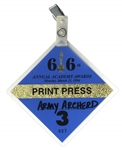 66th Academy Awards TV Pass -- Belonged to Army Archerd, Columnist for Variety