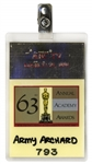 63rd Academy Awards TV Pass -- Belonged to Army Archerd, Columnist for Variety