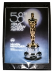 58th Academy Awards Poster