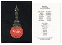 43rd Academy Awards Presentation Program