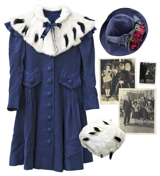 Shirley Temple Costume Auction Shirley Temple Luxurious Outfit From 1939 Film ''The Little Princess''