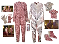 Steve Martins Inspector Jacques Clouseau Pink Camouflage Costume From the Pink Panther