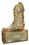 Gone With the Winds Ann Rutherfords 1988 Golden Boot Award -- The Academy Award of Westerns