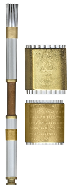 Olympic Relay Torch Used in 1996 Atlanta Summer Games