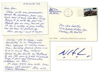 Novelist Harper Lee Autograph Letter Signed -- With Mention of Alabama Writer Rick Bragg & Lees Summer Travel Plans