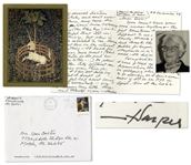 Harper Lee Autograph Letter Signed -- ...Please dont put this on the internet or anything -- Id dread for it to bring more mail!... -- Also Includes a Signed Photo of Lee