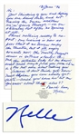 Harper Lee Autograph Letter Signed -- ...I hope to attend at least a couple of concerts...
