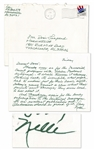 Harper Lee Autograph Letter Signed on Black Students at University of Alabama -- ...its incredible what people had to endure just for their basic rights. Todays young havent a clue...