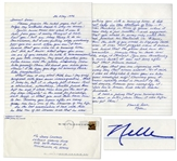 Harper Lee Autograph Letter Signed -- ...My grief compared with yours seems inconsequential...