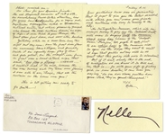 Harper Lee Autograph Letter Signed -- News of a Museum Scandal in NYC