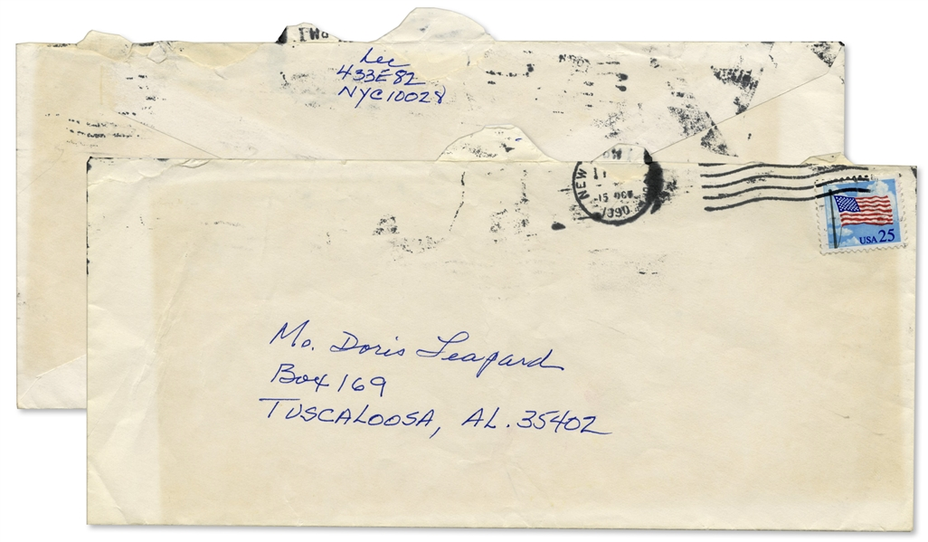 Harper Lee Autograph Note Signed at the Conclusion of a Lengthy Typed Letter Signed -- ''...Forgive me if this letter sounds ungracious & ungrateful...'' -- Also With Exceptional Racial Content
