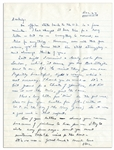 General Dwight Eisenhower WWII Autograph Letter Signed to His Wife, Mamie -- ...youll know that Im still struggling...