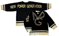 Prince Worn Jersey Bearing the Name of His Band & Label NPG, New Power Generation