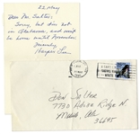Harper Lee Autograph Note Signed -- With Envelope From Mobile, Alabama