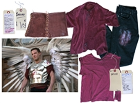 Ben Affleck Screen-Worn Hero Costume From the Climactic Ending of Dogma -- With the Directors COA