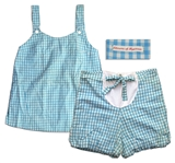 Jackie Kennedy Personally Owned & Worn Gingham Maternity Outfit