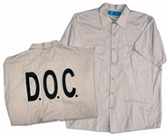 Christian Bale Screen-Worn Hero Shirt From the Prison Scenes in Out of the Furnace