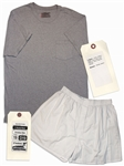 Christian Bale Screen-Worn Hero T-Shirt & Shorts From Out of the Furnace