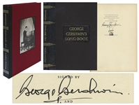 George Gershwin Signed Limited First Edition of George Gershwins Songbook -- Beautiful Copy Signed by Gershwin & Illustrator Constantin Alajalov in 1932