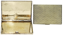 Jackie Kennedy Personally Owned Tiffany Cigarette Case