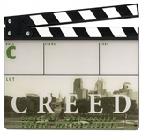 Creed Clapperboard Piece -- With COA From MGM