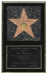 Tex Benekes Hollywood Walk of Fame Plaque