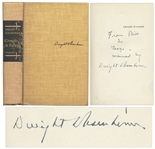 Dwight D. Eisenhower Signed First Edition of Crusade in Europe