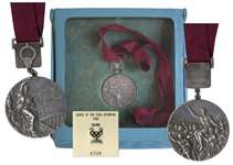 Silver Medal From the 1968 Summer Olympics, Held in Mexico City, Mexico -- Awarded for the Gymnastics Vault Event