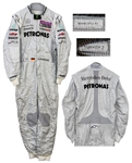 Michael Schumacher Worn Racing Suit From the 2011 Turkish Formula One Grand Prix
