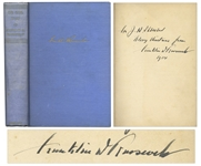 Franklin D. Roosevelt Signed First Edition, First Printing of On Our Way