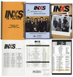 INXS Tour Itineraries From 2007, Personally Owned by Garry Beers -- With LOA From Garry Beers
